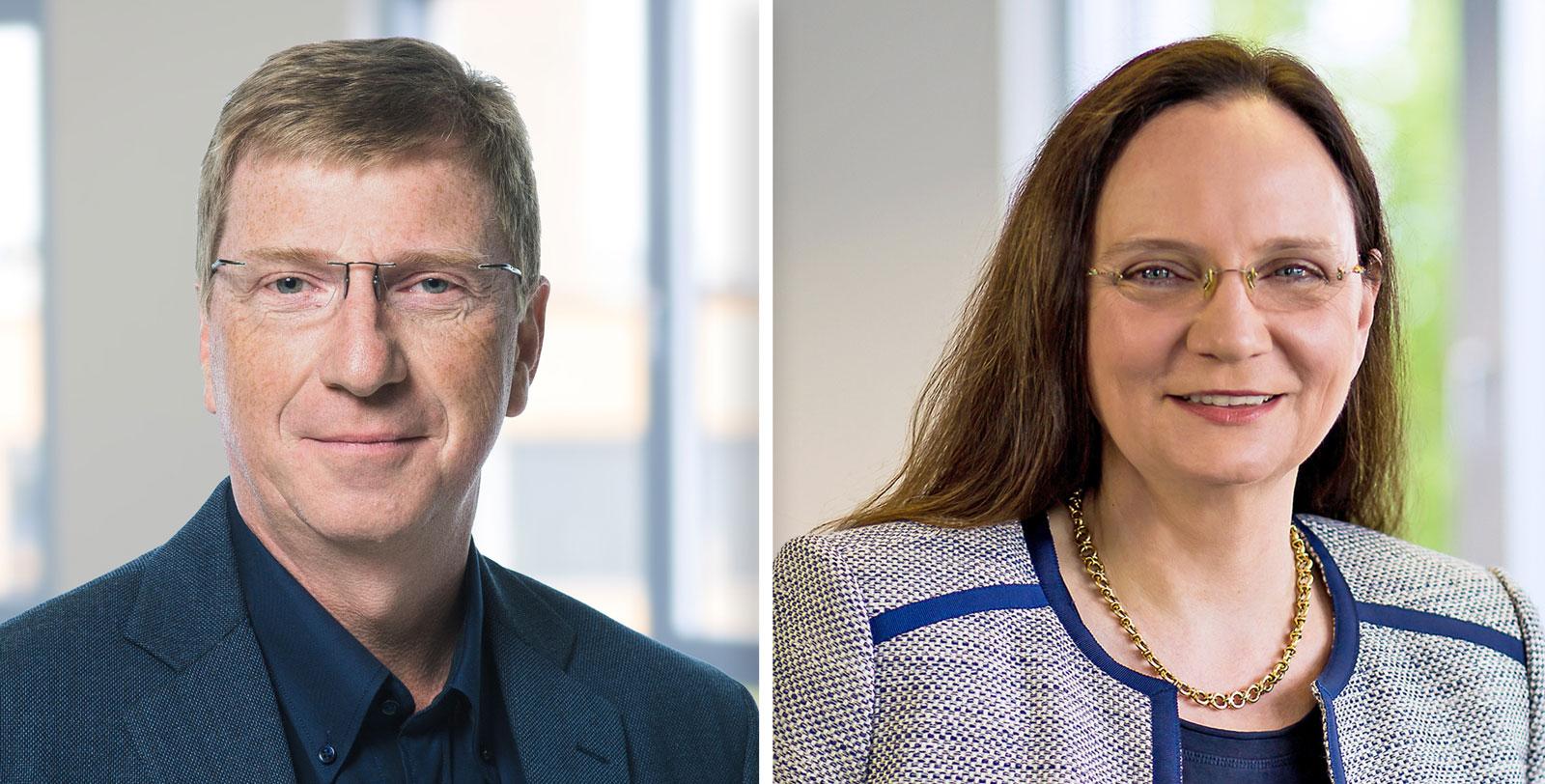 Die Geschäftsleitung der GRÜN NTX GmbH: Rainer Heckmann als neuer CEO und Carola Fornoff als COO.
